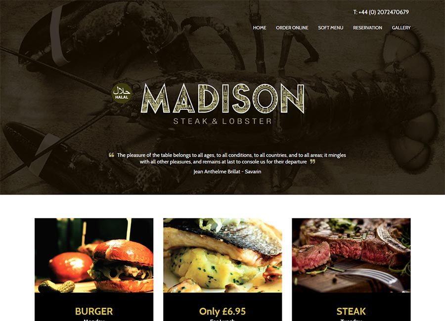 Madison Steak and Lobster
