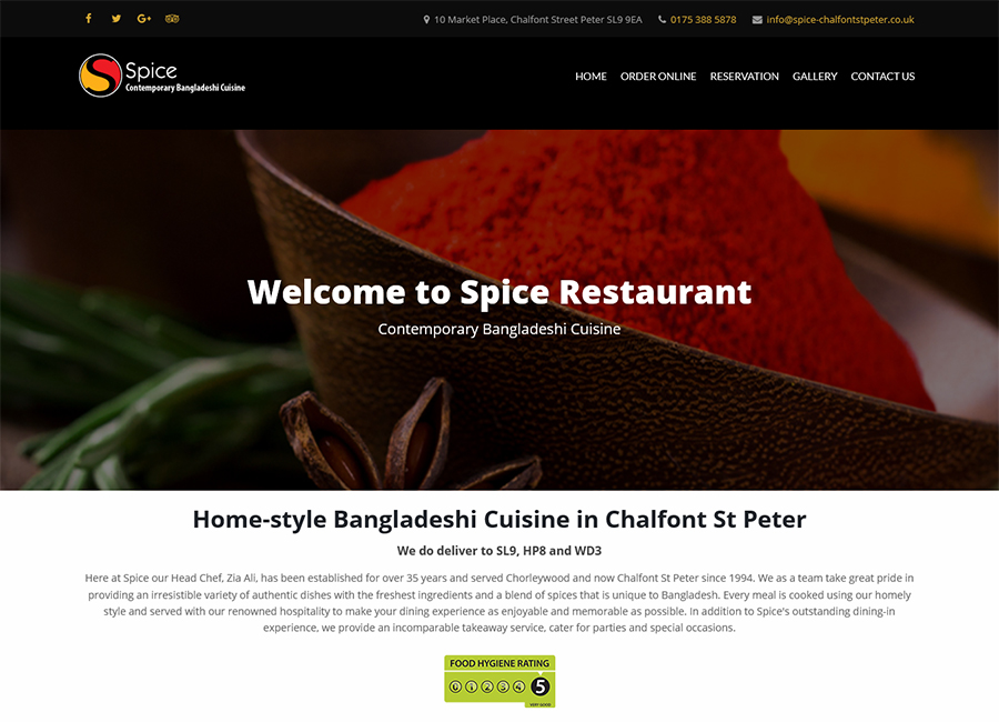 Spice Chalfont St peter